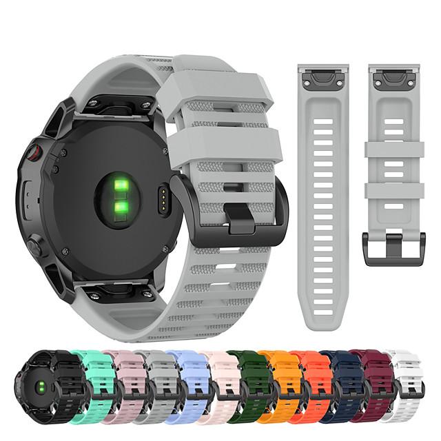 snabbsläpp easyfit armband med armband för garmin fenix 6 pro / fenix 5 plus / fenix 3 timmar safir / fenix 6x pro / fenix 5x plus / föregångare 935/945 / tillvägagångssätt s60 / s50 armband armband