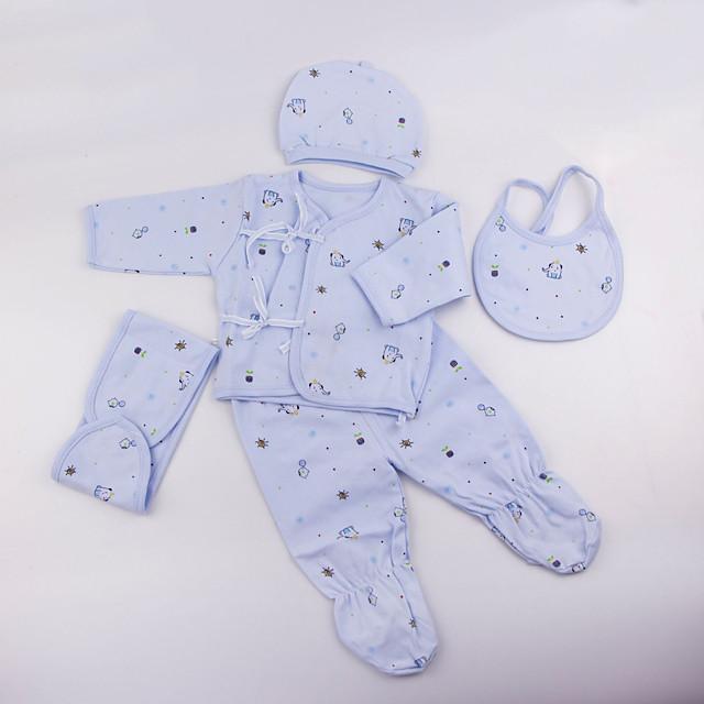 Reborn Baby Dolls Clothes Reborn Doll Accessories Bavlněná látka pro panenku 22-24 palců Reborn Nezahrnujte panenku Reborn Slon Měkký povrch Čistě ručně Dívčí 5 pcs