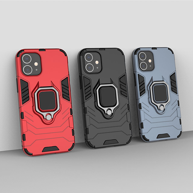 Apple iphone 5 5 s 5c iphone 6 6 s 6 p 6sp iphone 7 8 7 p 8 p se (2020) iphone x iphone xr xs max xs iphone 11 11 pro 11 pro max halka tutucu arka kapak katı renkli zırh tpu pc