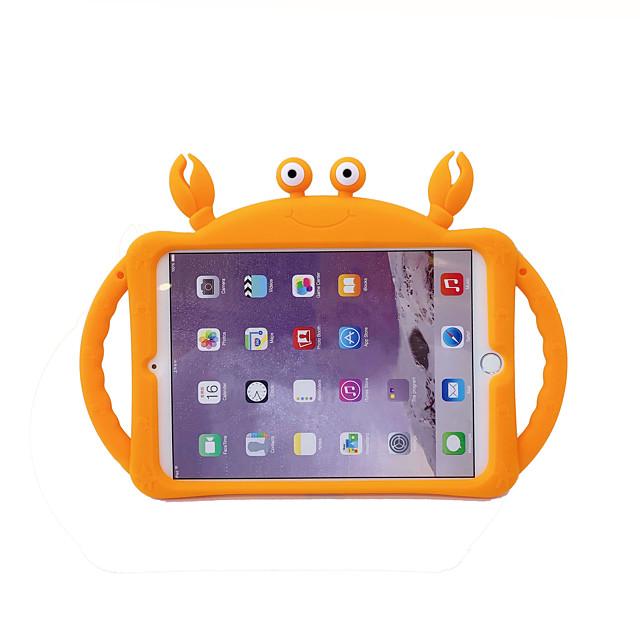 téléphone Coque Pour Apple Coque Arriere iPad Mini 3/2/1 iPad Mini 4 iPad Mini 5 Avec Support Motif Bande dessinée Animal Gel de silice