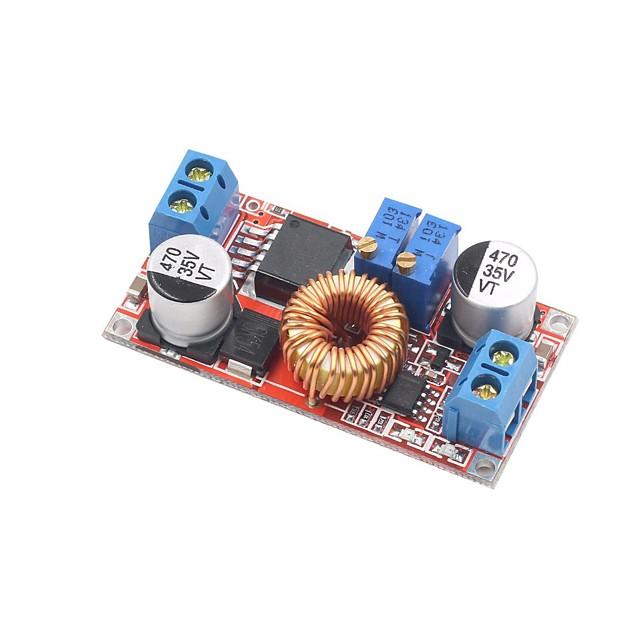 curent continuu și tensiune constantă cu curent înalt 5a li ion de încărcare a bateriei led led buck modul curent curent constant