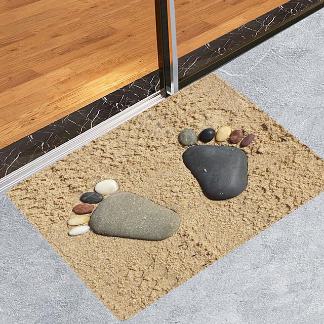 zand stenen voeten moderne badmatten nonwoven / traagschuim nieuwigheid badkamer