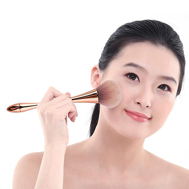 Professionnel Pinceaux à maquillage 1 pc Doux Frais Poil Synthétique Métallique pour Pinceau Fard à Joues