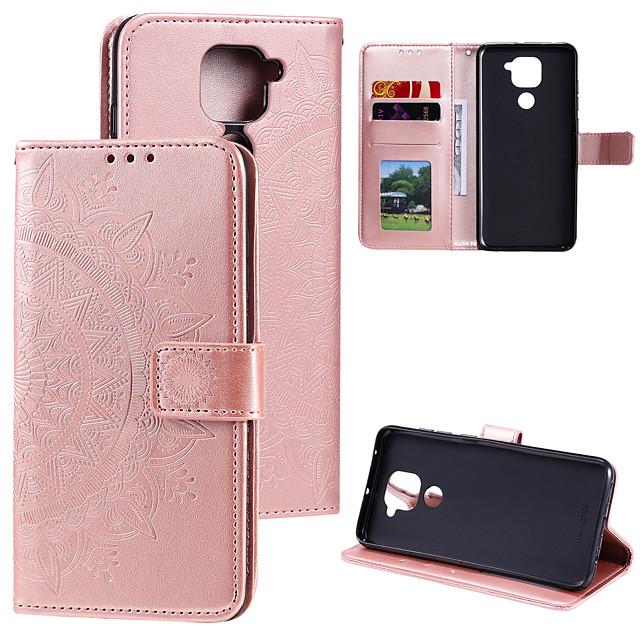 Case For Xiaomi 8 8 lite 9lite 9se 10lite 5g note10 lite cc9 cc9e redmi 8a k30 k20 k20pro note8 note8 pro 7a note9 note9 pro redmi9 Card Holder Flip Pattern Full Body Cases Flower PU Leather TPU