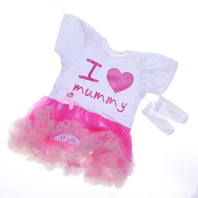 Vêtements de poupées Reborn Baby Accessoires de poupée Reborn Tissu en Coton pour poupée Reborn de 22 à 24 pouces Poupée Reborn Non Incluse Cœur Doux Pur fait main Fille 2 pcs