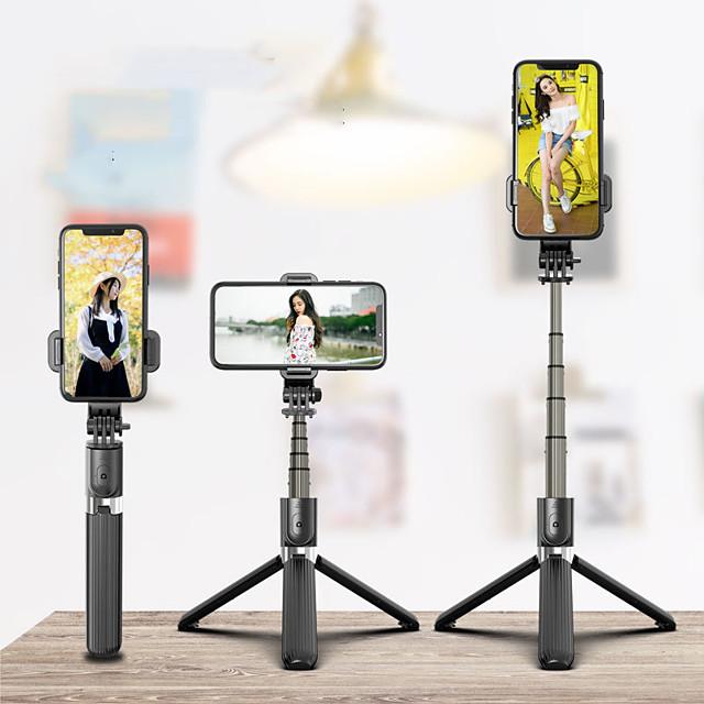 selfie stick trådløs Bluetooth selfie stativ foldbar håndholdt monopod stativ med lukker iphone fjernbetjening kamera