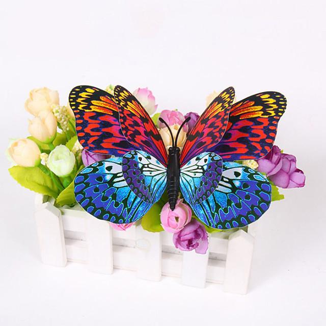 #D Jucărie magnetică Fluture flutur Pentru decorarea pereților 6Pcs Random Colors Adulți pentru cadouri de naștere și favoruri pentru petreceri