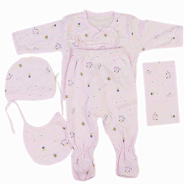 Vêtements de poupées Reborn Baby Accessoires de poupée Reborn Tissu en Coton pour poupée Reborn de 22 à 24 pouces Poupée Reborn Non Incluse Eléphant Doux Pur fait main Fille 5 pcs