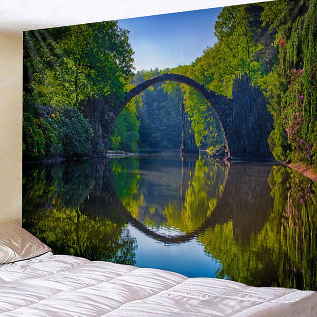 home living tapestry muur opknoping wandtapijten muur deken wall art wall decor landschapsschilderkunst tapestry wall decor