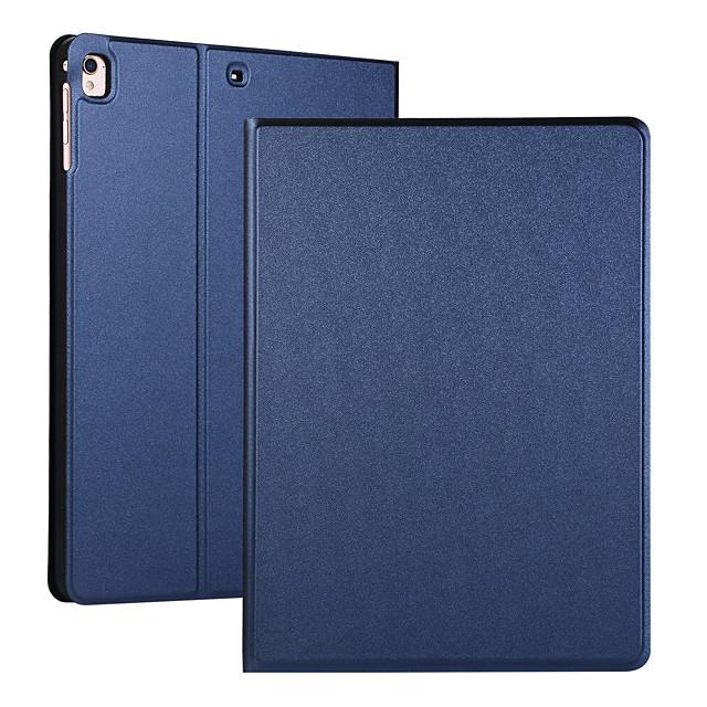 電話 ケース 用途 Apple フルボディーケース iPad Mini 3/2/1 iPad Mini 4 iPad Mini 5 フリップ オートスリープ / ウェイクアップ ソリッド PUレザー TPU
