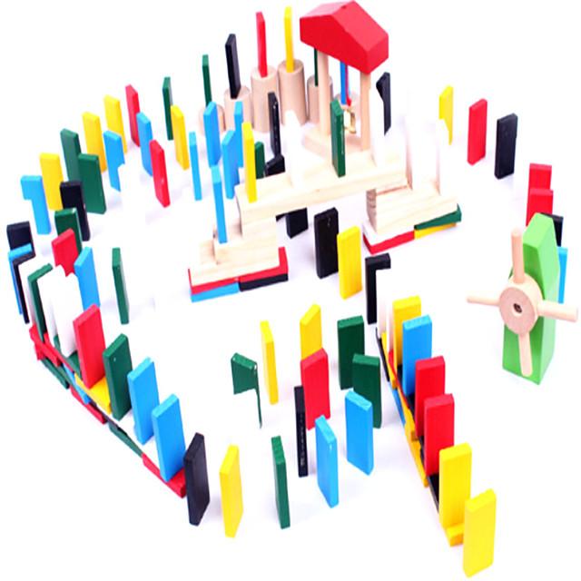 Bouwblokken Houten blokken 1 pcs verenigbaar Puinen Legoing School houten Decompressie Speelgoed Ouder-kind interactie Jongens en meisjes Speeltjes Geschenk / Kinderen