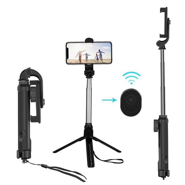 xt10 4 в 1 bluetooth ручной монопод селфи-палка держатель штатива с универсальным беспроводным дистанционным управлением складной штатив для камеры телефона