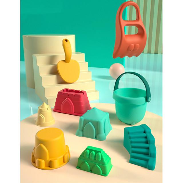 Jouets de plage Ensemble de jouets de sable de plage Jouets aquatiques 7 pcs ABS Très Grand 7 en 1 Pour Enfant Adulte