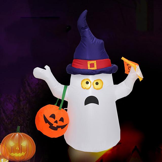 Halloween Party speelgoed Halloween springkussens Geest LED verlichting met Tethers and Stakes Polyesteri Kinderen Volwassenen Trick or Treat Halloween-feestartikelen