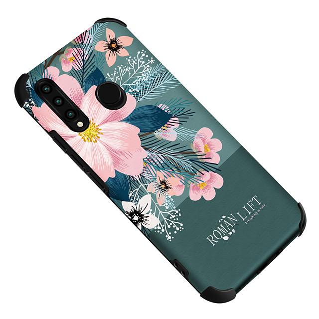 電話 ケース 用途 Huawei バックカバー HUAWEI P40 HUAWEI P40 Pro HUAWEI P40 Pro + Huawei P20 Huawei P20 Pro Huawei P20 lite ファーウェイP30 ファーウェイP30 Pro ファーウェイP30 Lite メイト10 耐衝撃 パターン 自然风光 フラワー TPU