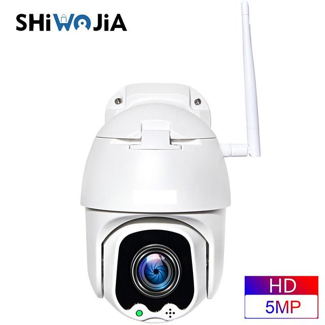 inqmega ptz ip camera wifi 360 15cm mini 1080p draadloze 4x zoom dual lens outdoor beveiliging bewaking thuis slimme cloud camera
