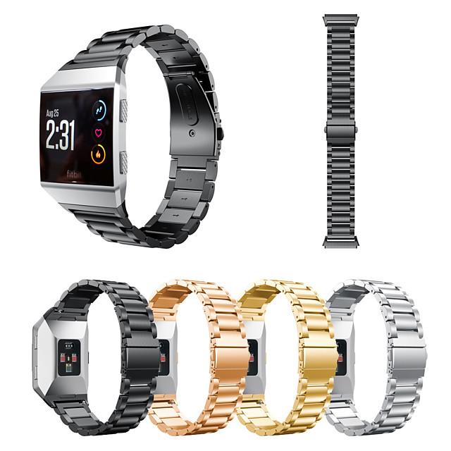 حزام للساعة Fitbit الأيونية fitbit العصرية سوار الفولاذ المقاوم للصدأ المعصم