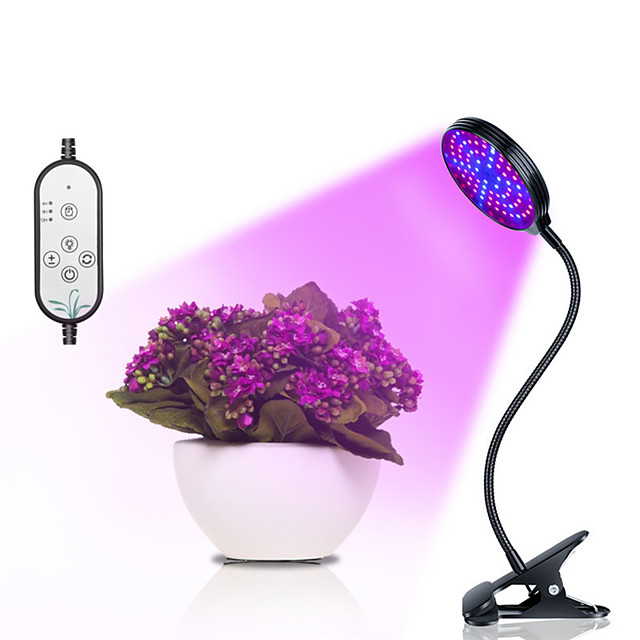 cultiver la lumière led plante lumière croissante 15w usb gradation led élèvent la lumière lampes de plantes led spectre complet minuterie de lampe phyto pour semis de fleurs de légumes d'intérieur