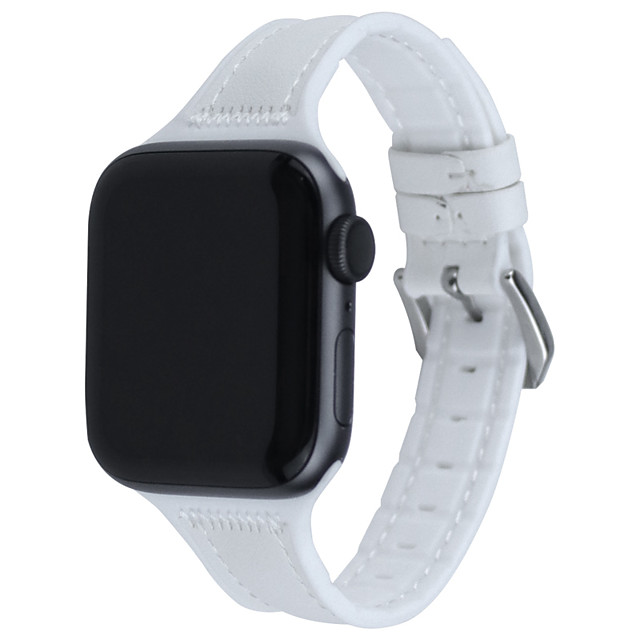Ремешок для часов Apple Watch Series 5 4 3 2 1 Apple, кожаный ремешок, стеганый ремешок из искусственной кожи