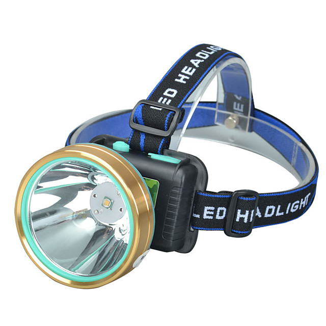 Pannlampor Framljus till cykel LED 1 utsläpps 4.0 Belysning läge med batterier och USB-kabel Justerbar LED Hög kraft Camping / Vandring / Grottkrypning Vardagsanvändning Cykling Utomhus USB Kall vit