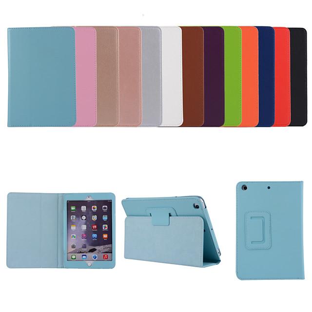 telefono Custodia Per Apple Integrale iPad Air iPad Air 2 iPad air3 10.5 '2019 Con supporto Con chiusura magnetica Tinta unita pelle sintetica TPU