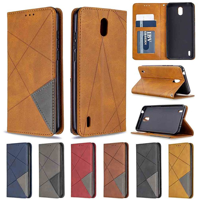 hoesje for nokia 1.3 nokia 2.3 nokia 5.3 wallet card holder with stand full body hoesjes diamond dark magnet pu leather tpu for nokia 3.2 nokia 7.2 nokia 2.2 nokia 4.2 nokia 1 plus