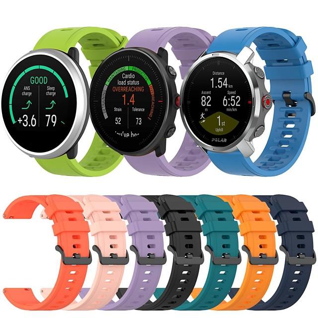 sport silikon klockband för polärt utsiktspunkt m / grit x / antänd utbytbart armband armband armband