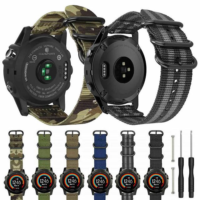 katonai sport karóra öv és eszköz a Garmin fenix 6 / fenix 6 pro sportpánthurokhoz katonai karkötő karóra a Garmin fenix 6 / fenix 6 pro / fenix 5 / fenix 5 pluszhoz