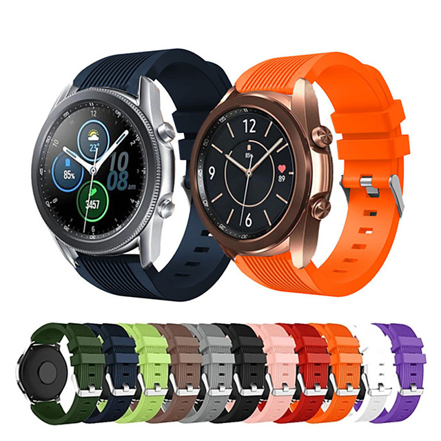pásek pro hodinky Samsung Galaxy 3 pásek 41mm 45mm galaxie hodinky 46mm / 42mm / aktivní pásek s 3 převodovkami s3, pásek 20/22mm