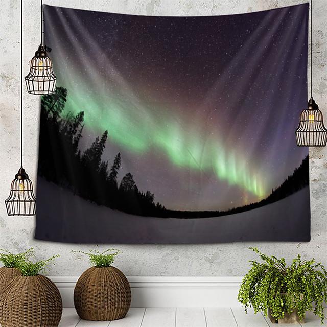 Bliksem berg tapijt muur opknoping wandtapijten muur deken muur kunst muur decor landschap schilderij tapijt wand decor