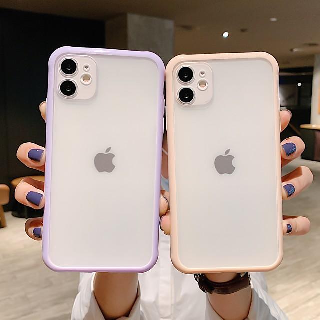 telefono Custodia Per Apple Integrale iPhone 12 Pro Max 11 SE 2020 X XR XS Max 8 7 Resistente agli urti Transparente Armatura Transparente TPU