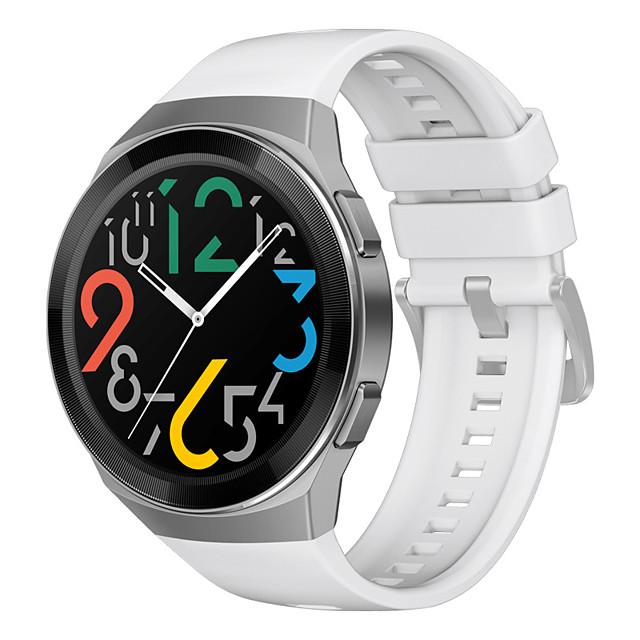 ремешок для часов для huawei watch gt 2e спортивный ремешок huawei / классический силиконовый ремешок с пряжкой оригинальный ремешок для часов