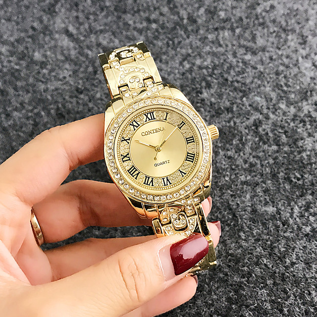 Kadın's Quartz Quartz Şık Moda Çok güzel Analog Gül Altın Altın Gümüş / Bir yıl / Bir yıl