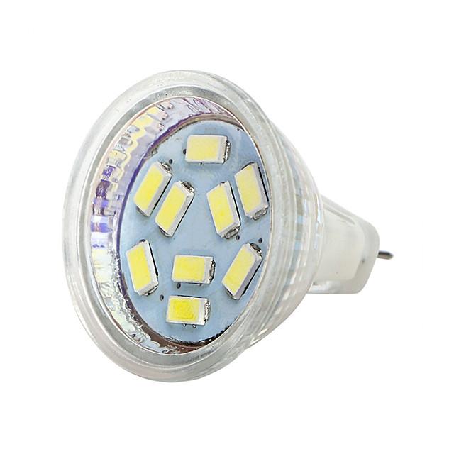 mr11 led farfurie de sticlă 12v lampă lumina reflectorizantă bec de porumb led 5730 9leds 5050 lampada bombilla led * 1
