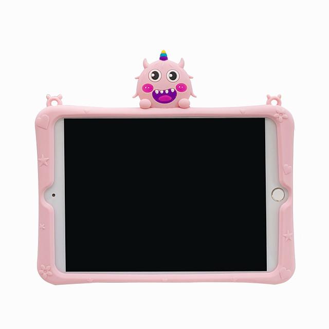 telefono Custodia Per Apple Per retro iPad Mini 3/2/1 iPad Mini 4 iPad Mini 5 Con supporto Fantasia / disegno Cartoni animati Gel di silice