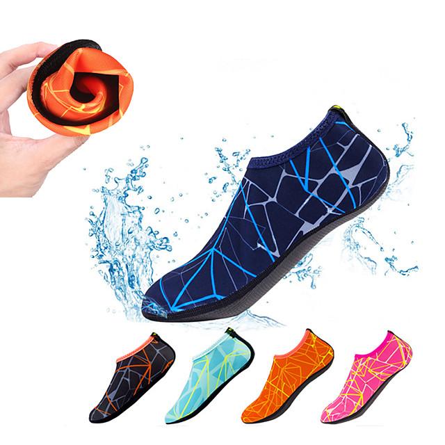 رجالي نسائي جوارب الماء جوارب اكوا بوليستر سريع جاف مكافح الانزلاق حافي القدمين يوغا سباحة غوص تزلج على الماء الرياضات المائية - إلى بالغين