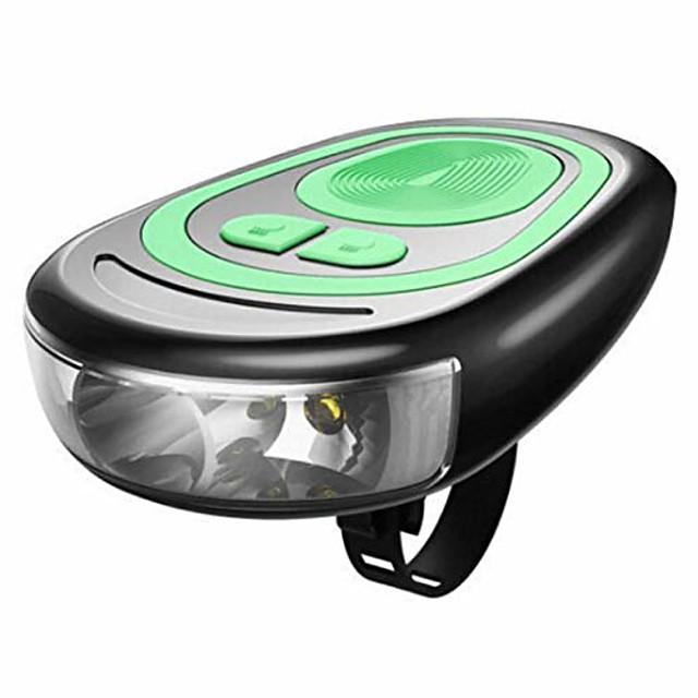 LED Sykkellykter Frontlys til sykkel Bike Horn Light Sykkel Sykling Vanntett Flere moduser Super Bright Nytt Design Hvit