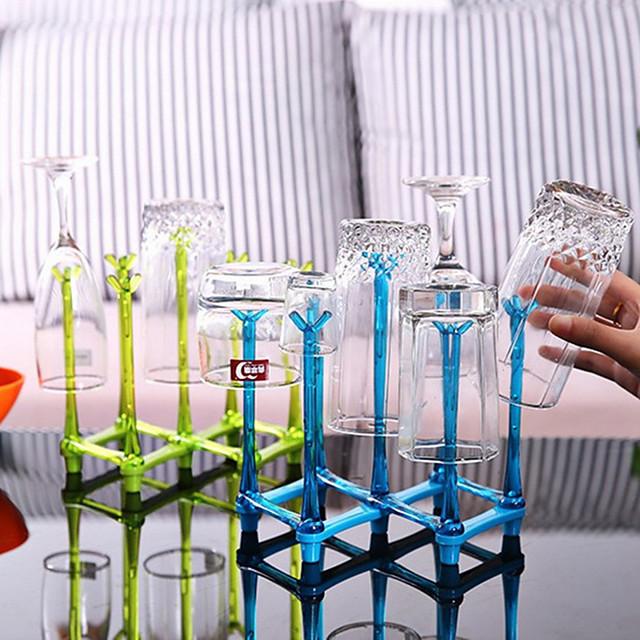nieuwe eenvoudige solide fles droogrek tepel afvoer rek fles droogrek water beker plank