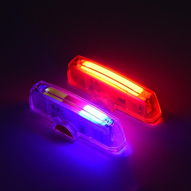 Fietsverlichting achterlichten Fietsen Wielrennen Draagbaar Nieuw Design Duurzaam USB / USB RGB Rood Dagelijks gebruik Fietsen