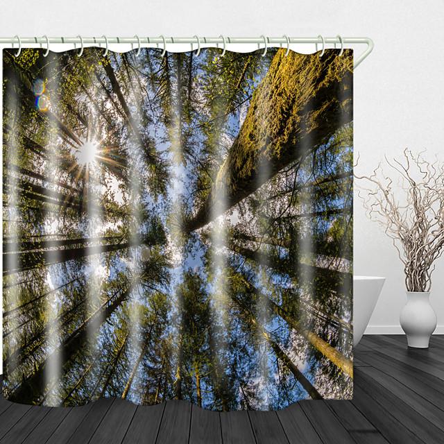 douche gordijnen& haken modern polyester nieuw design