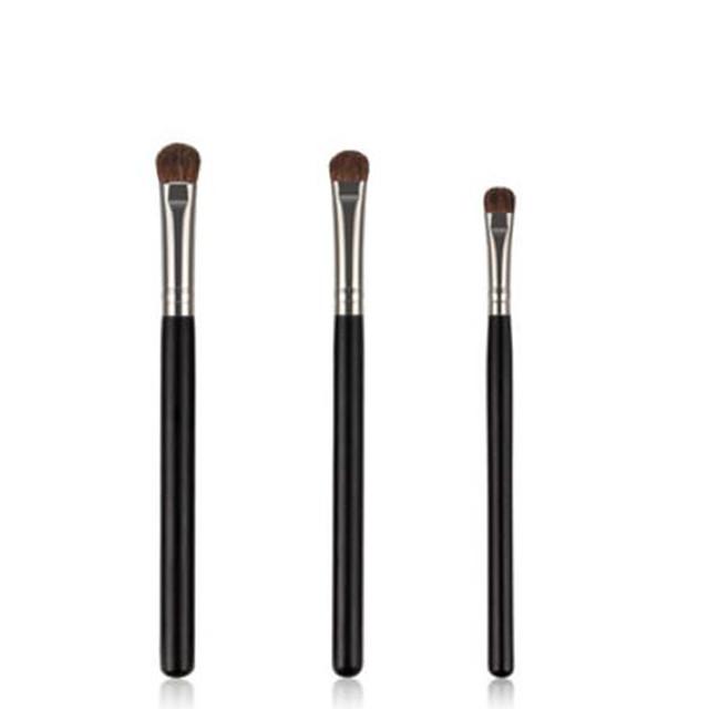 professioneel Make-up kwasten 7pcs Professioneel Zacht Beugel comfy Kwast van ponyhaar Houten / bamboe voor Eyelinerkwast Make-up kwast Oogschaduwkwast
