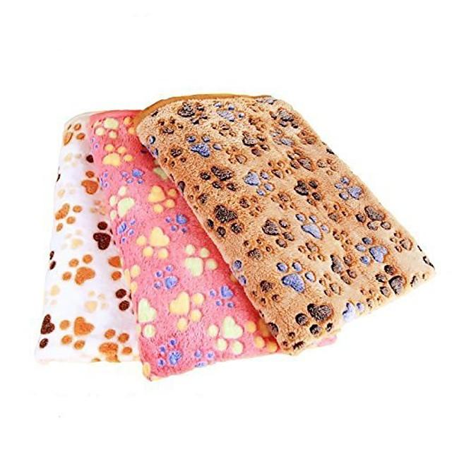 couverture pour animaux de compagnie pour petits chats& tapis de sommeil épais pour chiens, couverture douce pour chien chat chiot chaton (s, marron)