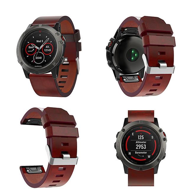 curea de ceas pentru fenix 5x fenix 3 h fenix 3 garmin cataramă clasică curea din piele naturală