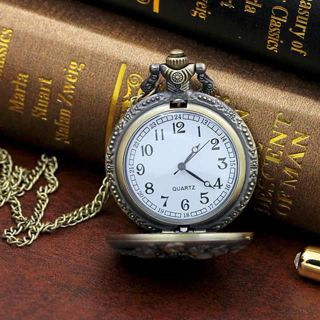 رجالي ساعة فستان كوارتز ستايل كاجوال طرد كبير مماثل برونز / سنة واحدة / سبائك التيتانيوم