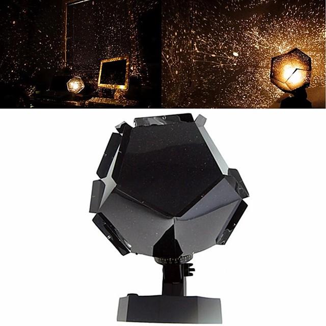 Planétarium romantique étoile projecteur galaxie projecteur veilleuse LED lampe de projection pour la maison planétarium décoration enfants chambre cadeau bricolage lumières