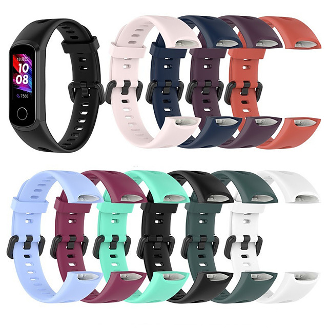 vervangende polsband voor huawei honor 5i huawei band 4 band armband zachte siliconen sporthorlogeband slimme polsband accessoires