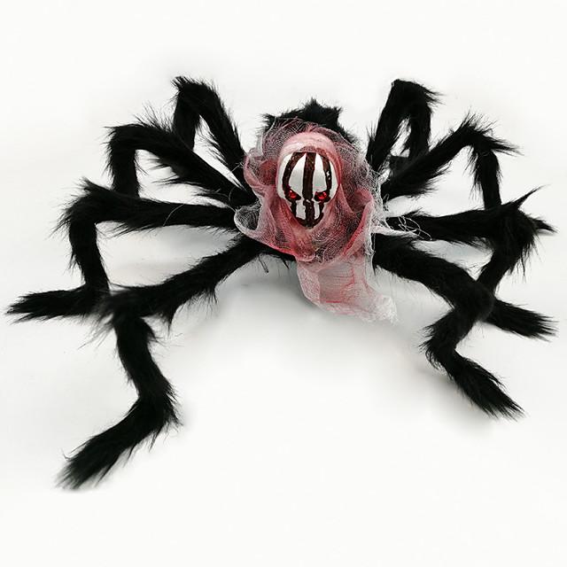 Halloween Party speelgoed Halloween Spider ringen Pluche spin Prank Grapje Props Ghost Head Simulatie Feestartikelen Vaahto Kinderen Volwassenen Trick or Treat Halloween-feestartikelen