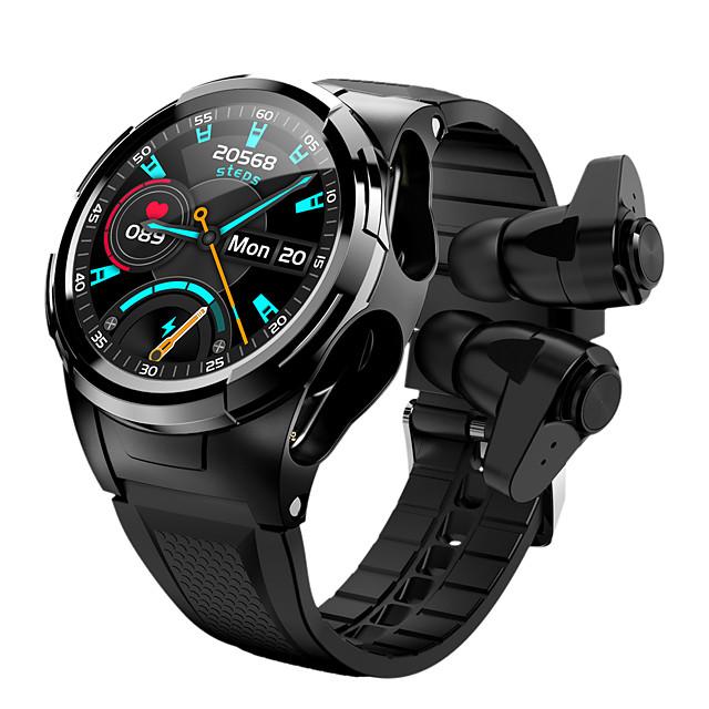 s201 smartwatch met draadloze oordopjes die compatibel zijn met Android / iOS-telefoons