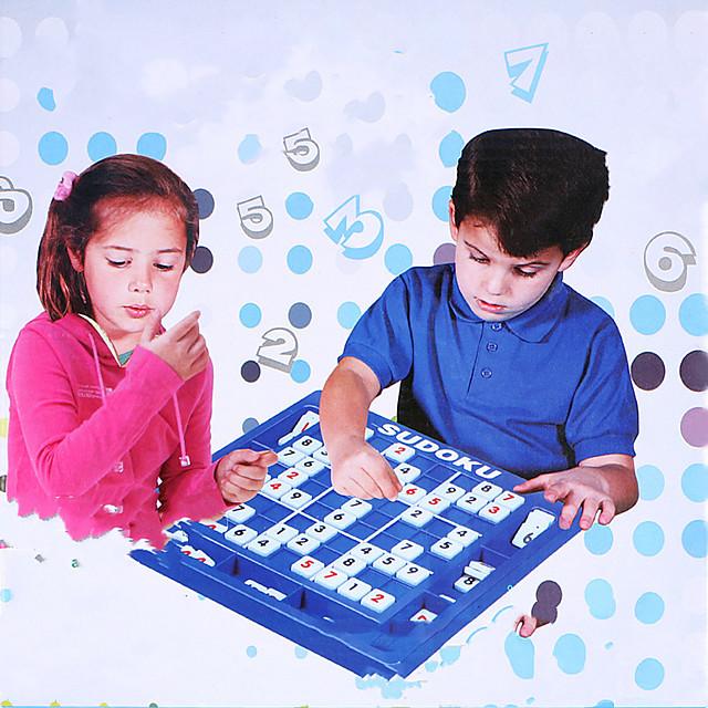 1 pcs ألعاب الطاولة تركيب سودوكو بلاستيك متخصص للأطفال للبالغين للصبيان للفتيات ألعاب الهدايا