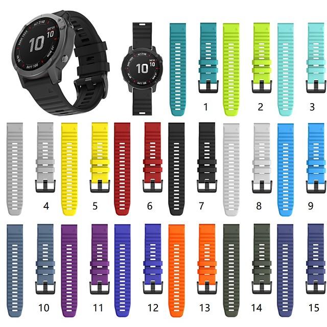 pulseira de relógio para fenix 5x / fenix 5x plus / fenix 3 horas pulseira de silicone com fivela garmin classic